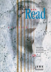 Hear and Read Guitar, m. Audio-CD