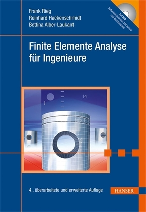 Finite elemente analyse f r ingenieure m dvd rom for Finite elemente analyse