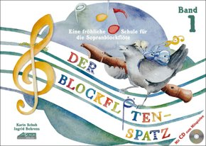 Der Blockflötenspatz, m. Audio-CD - Bd.1