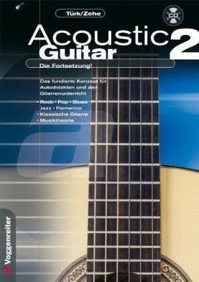 Acoustic Guitar, Die Fortsetzung, m. CD-Audio - Tl.2