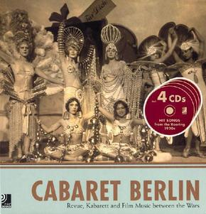 Berlin Cabaret, Fotobildband u. 4 Audio-CDs