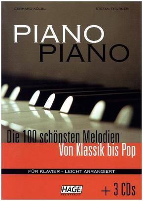 Piano Piano, m. 3 Audio-CDs
