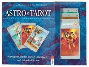 AstroTarot, Deutungsbuch u. 78 Tarotkarten