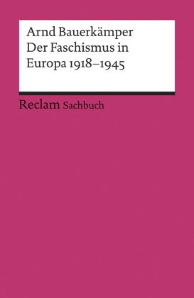 Der Faschismus in Europa 1918 - 1945