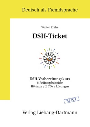 DSH-Ticket, m. 2 Audio-CDs