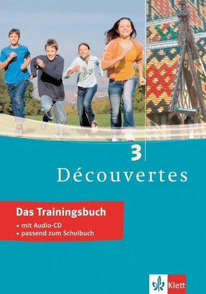 Découvertes: Das Trainingsbuch, m. Audio-CD; Bd.3