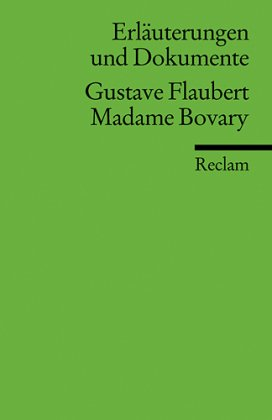 Gustave Flaubert 'Madame Bovary'