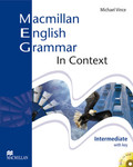 Macmillan English Grammar in Context: Intermediate, Student's Book (with key), w. CD-ROM