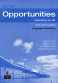 New Opportunities, Pre-Intermediate: Language Powerbook, w. CD-ROM