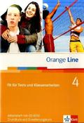 Orange Line: Fit für Tests und Klassenarbeiten, m. CD-ROM/Audio-CD; Bd.4