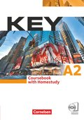 Key: Coursebook with Homestudy, m. 2 Audio-CDs; Niveau.A2