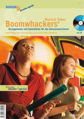 Boomwhackers Musical Tubes, m. Audio-CD