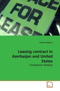 Leasing contract in Azerbaijan and United States