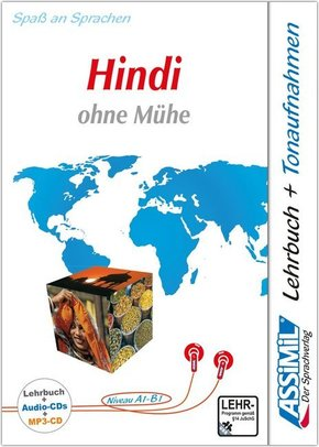 Assimil Hindi ohne Mühe: Lehrbuch + 4 Audio-CDs + MP3-CD