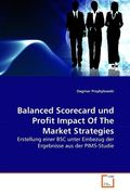 Balanced Scorecard und Profit Impact Of The Market Strategies