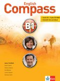 English Compass: Students Book, m. 2 Audio-CD/CD-ROMs; Niveau.B1