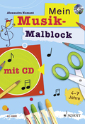 Mein Musikmalblock, m. Audio-CD