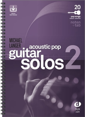 Acoustic Pop Guitar Solos, m. Audio-CD - Bd.2