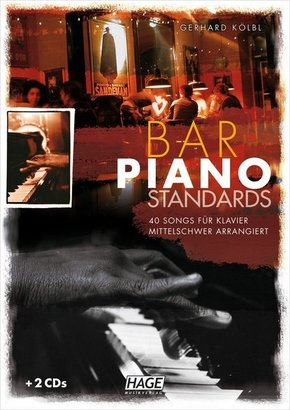 Bar Piano Standards, m. 2 Audio-CDs