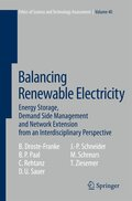 Balancing Renewable Electricity
