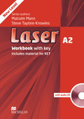 Laser A2: Workbook with key and Audio-CD