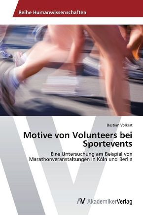 Motive von Volunteers bei Sportevents
