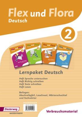 Flex Und Flora Deutsch Lernpaket Deutsch 2 Verbrauchsmaterial