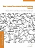 Major Trends in Theoretical and Applied Linguistics - Vol.1