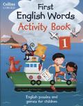 First English Words Activity Book - Pt.1