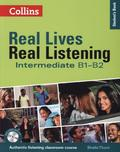 Real Lives, Real Listening: Intermediate, Student's Book w. MP3-CD