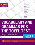 Vocabulary and Grammar for the TOEFL Test, w. MP3-CD