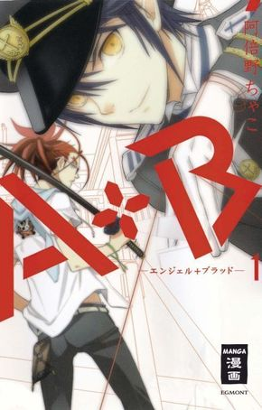 A+B - Angel + Blood - Bd.1