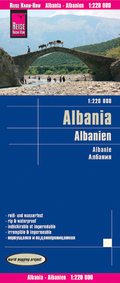 World Mapping Project Albanien; Albania; Albanie
