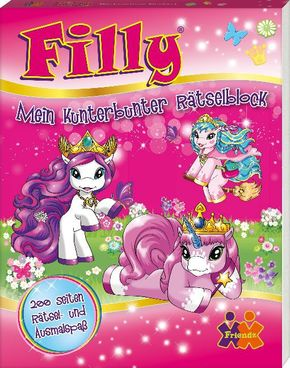 Filly, Mein kunterbunter Rätselblock