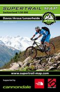 Supertrail Map Davos / Arosa / Lenzerheide