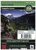 Supertrail Map Zugspitz Arena