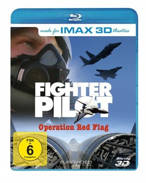 IMAX: Fighter Pilot 3D, 1 Blu-ray