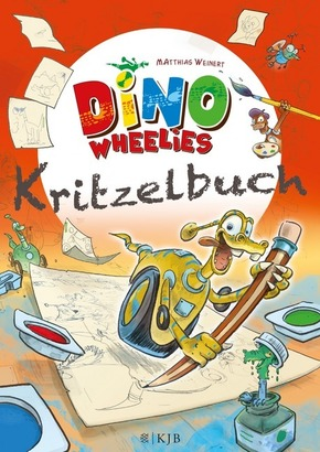 Dino Wheelies - Kritzelbuch