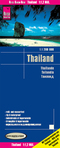 World Mapping Project Reise Know-How Landkarte Thailand (1:1.200.000); Thailande; Tailandia