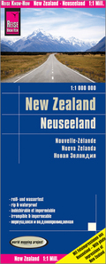 World Mapping Project Reise Know-How Landkarte Neuseeland (1:1.000.000); New Zealand; Nouvelle Zélande. Nueva Zelanda