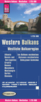 World Mapping Project Reise Know-How Landkarte Westliche Balkanregion; Western Balkans; Les Balkans occidentaux. Balcane