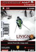 Freeride Map Livigno