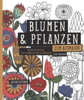 blumen pflanzen zum ausmalen. Black Bedroom Furniture Sets. Home Design Ideas