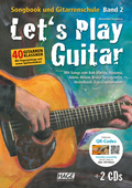 Let's Play Guitar, m. DVD+ 2 Audio-CDs - Bd.2