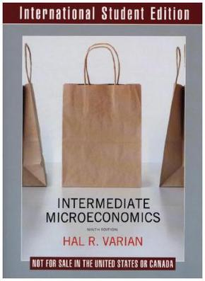 Intermediate Microeconomics. A Modern Approach