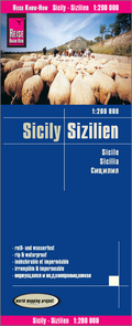 World Mapping Project Reise Know-How Landkarte Sizilien (1:200.000); Sicily / Sicile / Sicilia