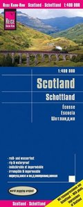 World Mapping Project Reise Know-How Landkarte Schottland (1:400.000); Scotland / Écosse / Escocia