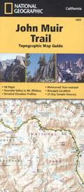 National Geographic Topographic Map Guide John Muir Trail