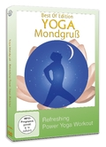 Yoga Mondgruß - Refreshing Power Yoga Workout, 1 DVD