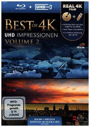 Best of 4K - UHD Impressionen (UHD Stick in Real 4K +, 1 Blu-ray (Limited Edition) - Vol.2